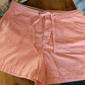 St. John's Bay apricot shorts size 12